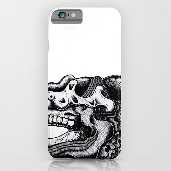 Illustration of a Ghost iPhone & iPod Case