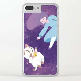 Bee & Puppycat Clear iPhone Case