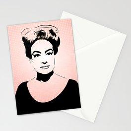 Joan Crawford - Hollywood Royalty - Pop Art Stationery Cards
