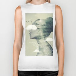 Head in the Clouds Biker Tank