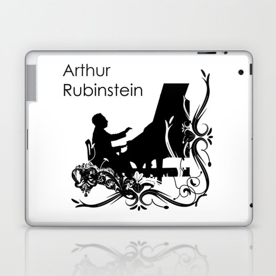 Arthur Rubinstein Laptop & iPad Skin by vivalarevolucion