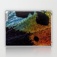 Vibrant Iridescence of The Madagascan Sunset Moth Laptop & iPad Skin