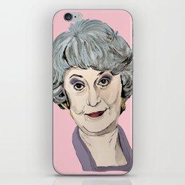 Dorothy Zbornak from The Golden Girls (Pink) iPhone Skin