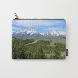 Snake River And The Grand Tetons Carry-All Pouch