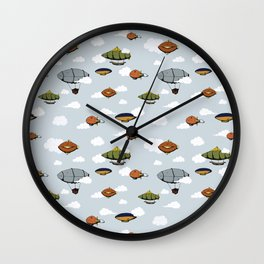 Blimps, Zeppelins, and Dirigibles Wall Clock