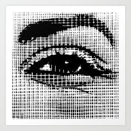 Happy Eye Art Print