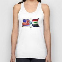 flag Tank Tops featuring Flag by ℳajd