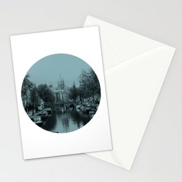 Amsterdam Canal #1 Stationery Cards