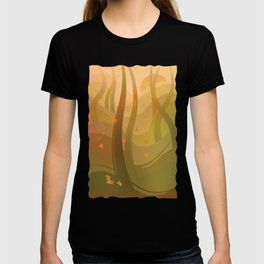 Enchanting Autumn Forest T-shirt