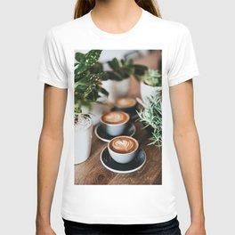 Latte + Plants T-shirt