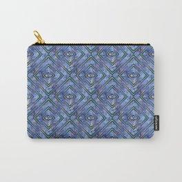 Geometric Glitter Design Carry-All Pouch