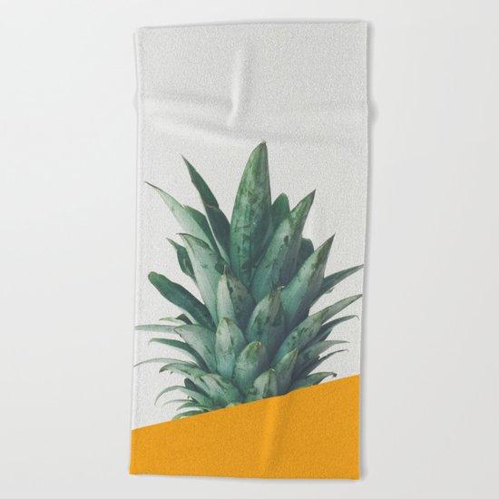 Pineapple Dip IV Beach Towel