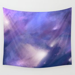 Innocence (Remembering life before the hurt) | Abstract Painting Wall Tapestry