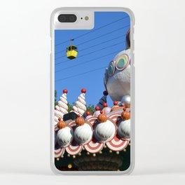 fiberglass dreamland Clear iPhone Case