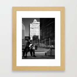 My Kind of Town Framed Art Print