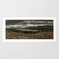 scotland Art Prints featuring Scotland by Miguel Cardoso
