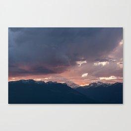 Sharp Edge Canvas Print