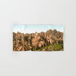 Cathedral Park, Garden of the Gods, Colorado Springs, Colorado, 1901 Hand & Bath Towel