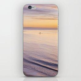 Sunset Paddle iPhone Skin