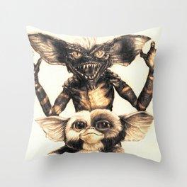 Gizmo by Aaron Bir Throw Pillow