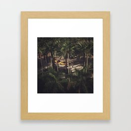 Miami from Above Framed Art Print