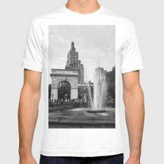 Washington Square Mens Fitted Tee MEDIUM White