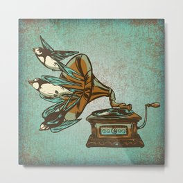 Nature Sounds Metal Print
