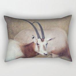 Scimitar oryx Rectangular Pillow