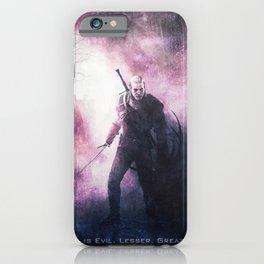 Geralt of Witcher Wild Hunt iPhone Case