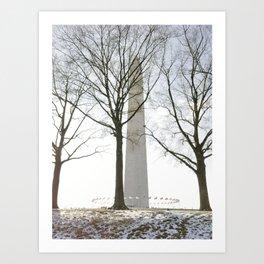 Washington Wonderland Art Print