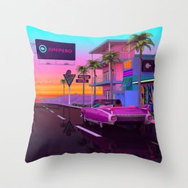 Heaven is a place on earth Throw Pillow