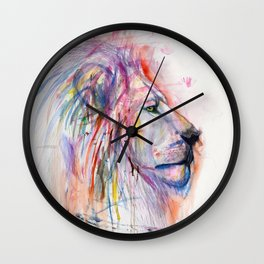 The Almighty Lion Wall Clock