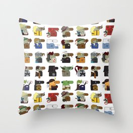 Hooray for Hollywood  Throw Pillow
