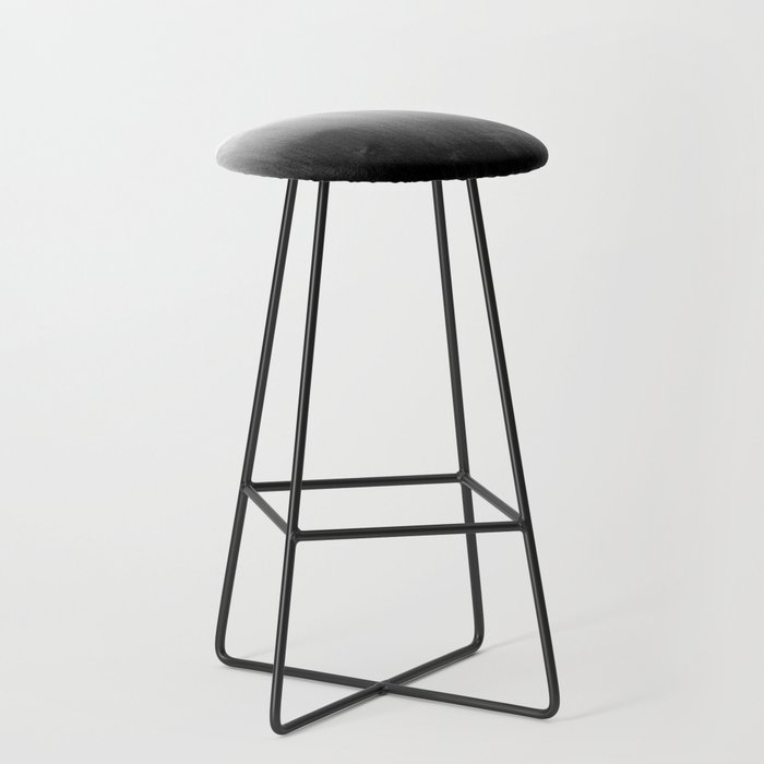 Modern Black and White Watercolor Gradient Bar Stool