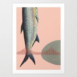 Golden Gate Fish Art Print