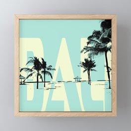 Bali Framed Mini Art Print