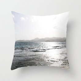 Shades of Sunrise Throw Pillow