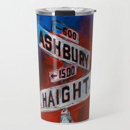 Haight and Hashbury Travel Mug