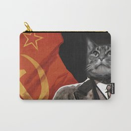 Soviet Cat Carry-All Pouch