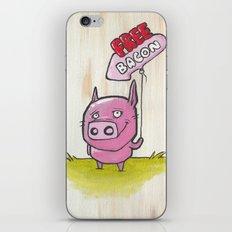 Free Bacon iPhone & iPod Skin