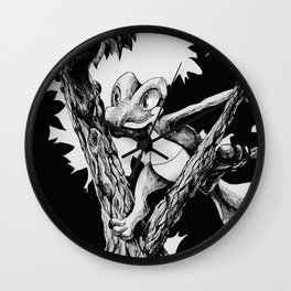 Treecko Wall Clock