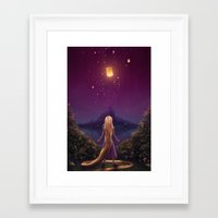 tangled Framed Art Prints featuring Tangled by Westling