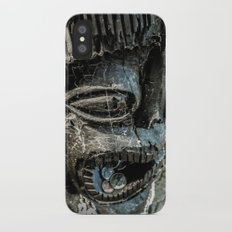 Bribing the gods for a little luck iPhone X Slim Case