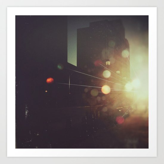 Sunrise // LHC Art Print