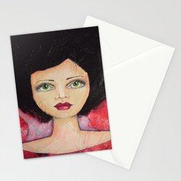 Bella SASS Girl - Cyndi - SASS = STRONG and SUPER SMART Stationery Cards