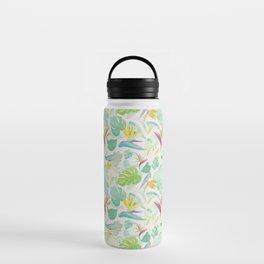 Birds of Paradise Pattern Water Bottle