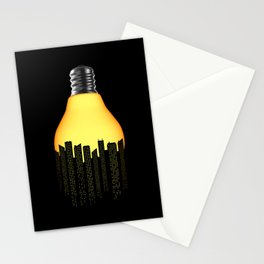 Bright Light Big City Stationery Cards
