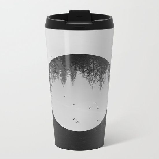 SOMEWHERE Metal Travel Mug