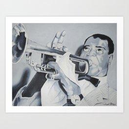 """""""Jazzy Days"""" Art Print"""