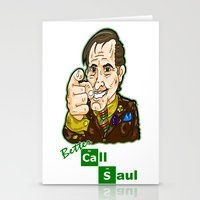better call saul Stationery Cards featuring Better Call Saul...  Attorney Saul Goodman from Breaking Bad  by beetoons